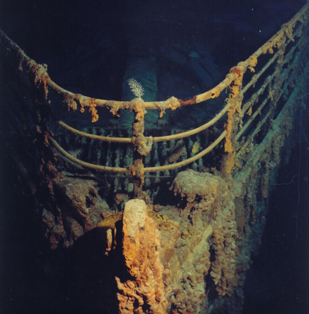 Il y a 100 ans, le naufrage du paquebot Titanic Bp25