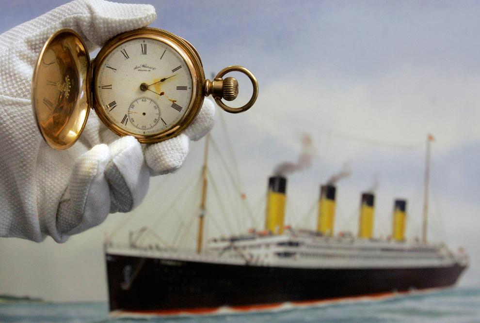 Il y a 100 ans, le naufrage du paquebot Titanic Bp33