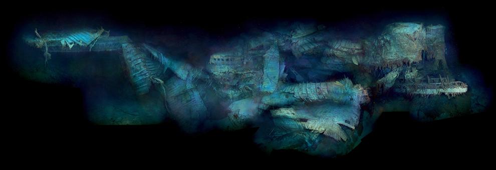 Il y a 100 ans, le naufrage du paquebot Titanic Bp49