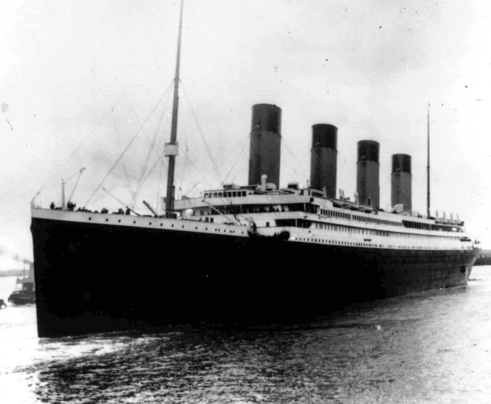 Il y a 100 ans, le naufrage du paquebot Titanic Bp6