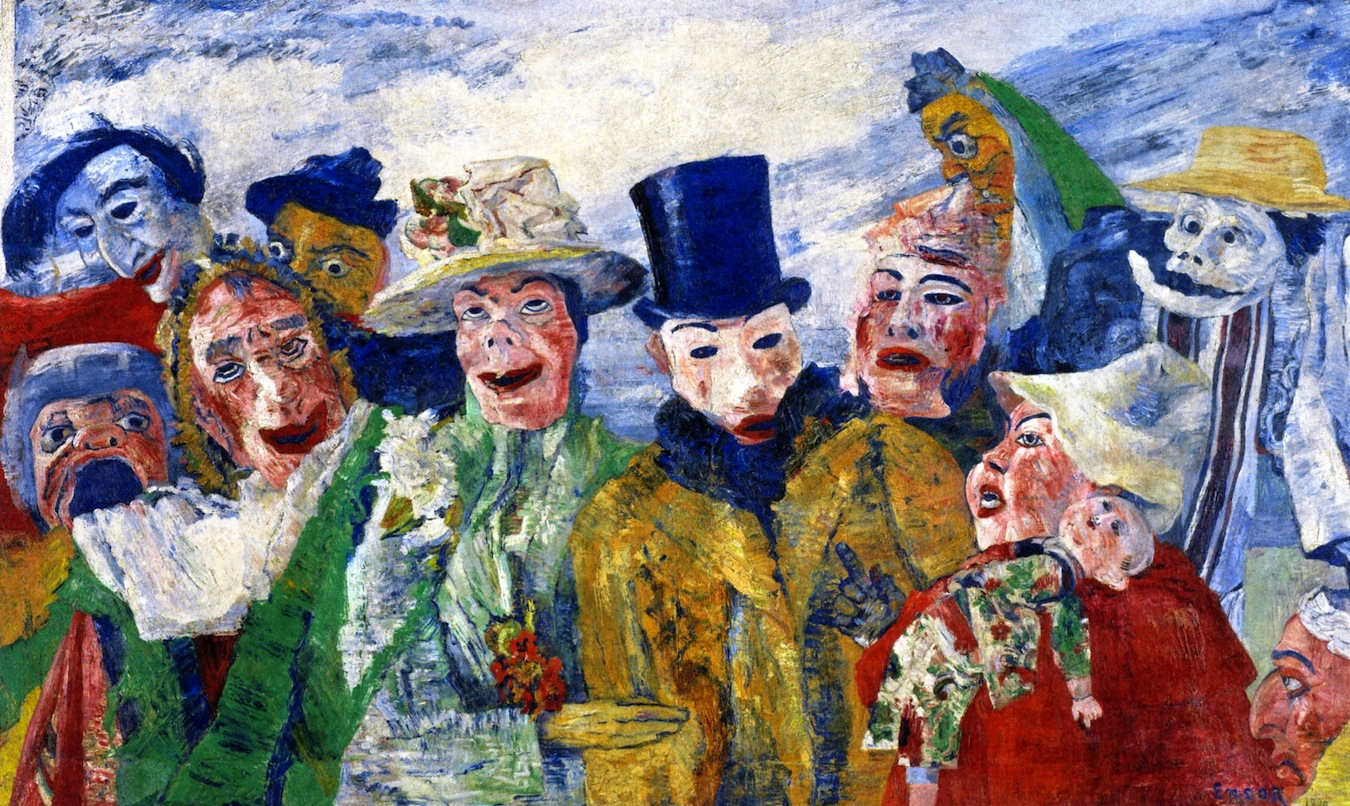 James Ensor James-Ensor-intrigue