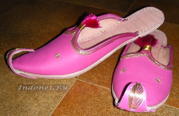 Индийские туфли-алладины