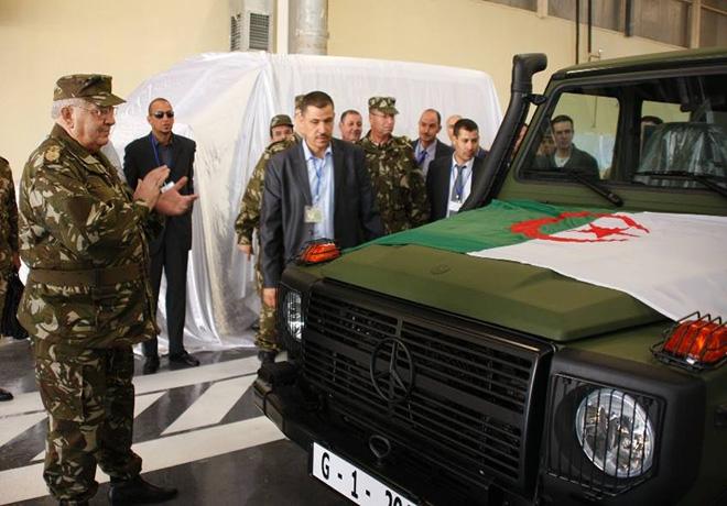 الصناعة الجزائرية العسكرية مع الصور..والتقارير تشير إلى عدم وجود تطور لتصل كعهد السبعينات Algeir-mercedes