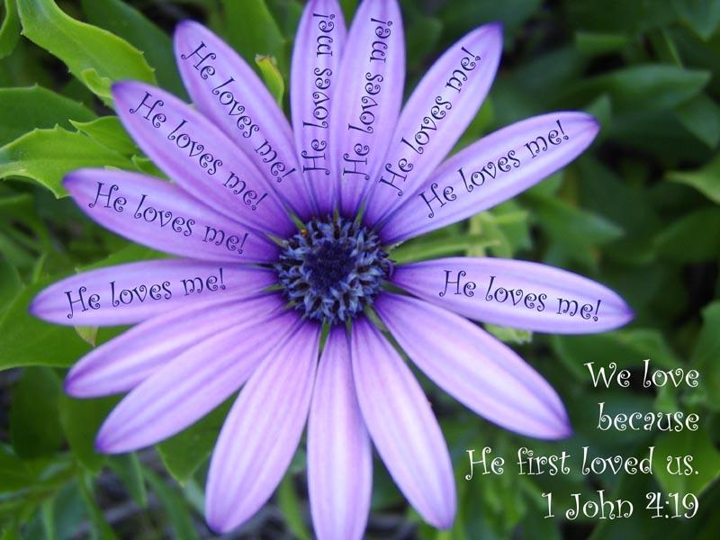 Se cuvstvuvam .....kako na slikata - Page 9 We-love-because-he-first-loved-us