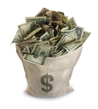 Harry Potter Bag-of-money