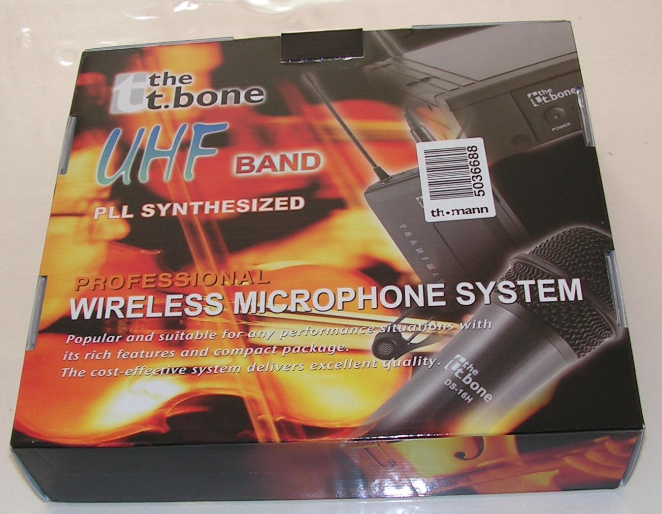 Microphone sans fil T-bone DS-16H : Utilisation sur émetteur-récepteur radioamateur Micro-sans-fil-03