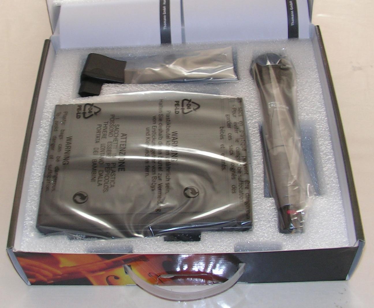 Microphone sans fil T-bone DS-16H : Utilisation sur émetteur-récepteur radioamateur Micro-sans-fil-04