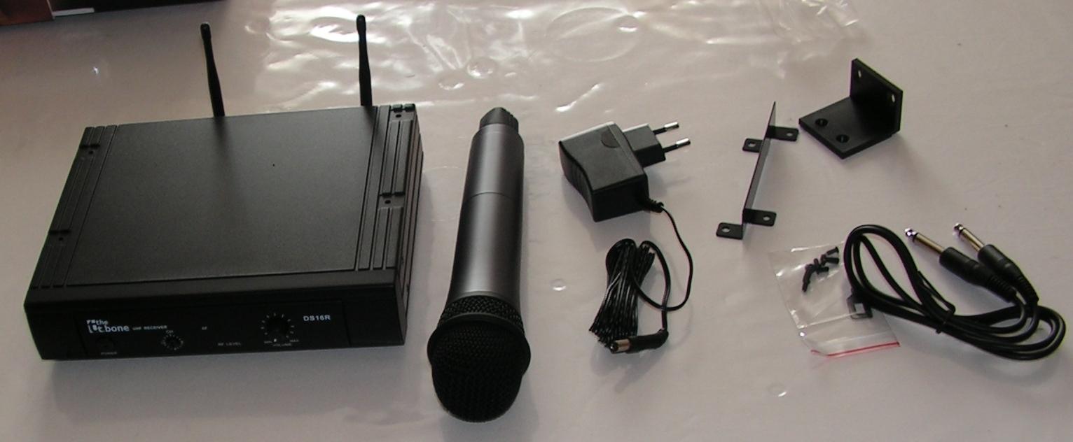 Microphone sans fil T-bone DS-16H : Utilisation sur émetteur-récepteur radioamateur Micro-sans-fil-05