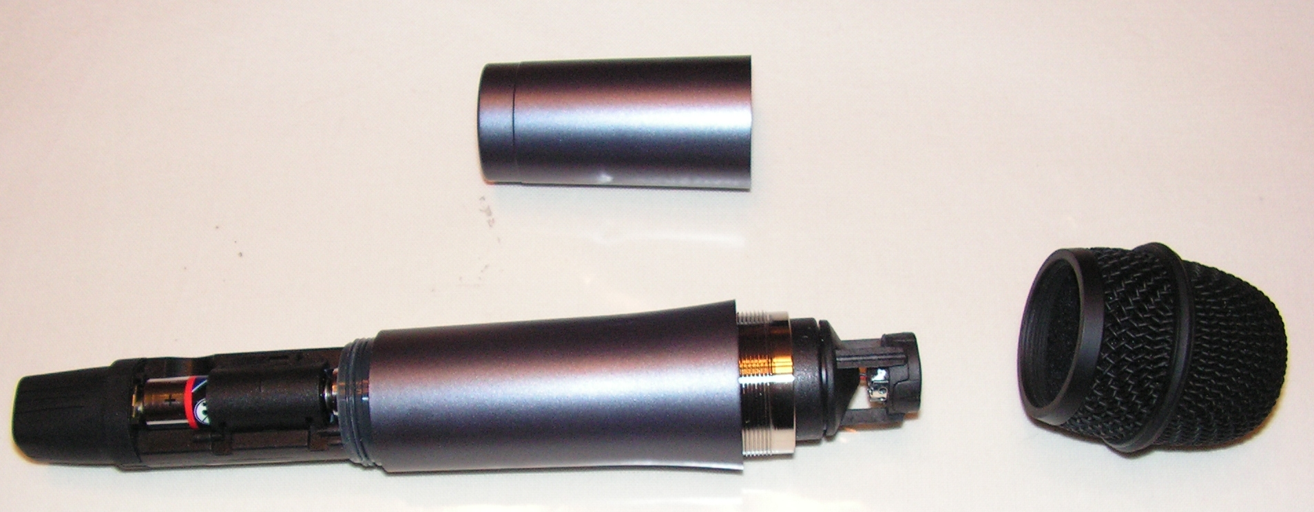 Microphone sans fil T-bone DS-16H : Utilisation sur émetteur-récepteur radioamateur Micro-sans-fil-07