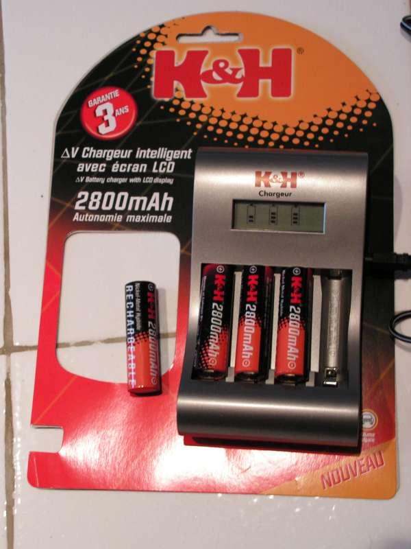 Chargeur accus R3 & R6 : Possible de ne charger qu'un seul accumulateur ! Chargeur-accu02