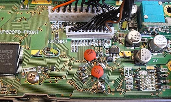 Variation incohérente VFO ou bouton : Cas de l' ALINCO DX70 Alinco-dx70