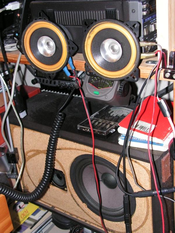 Haut-parleur externe : retour d'expérience ? Hp-radioamateur