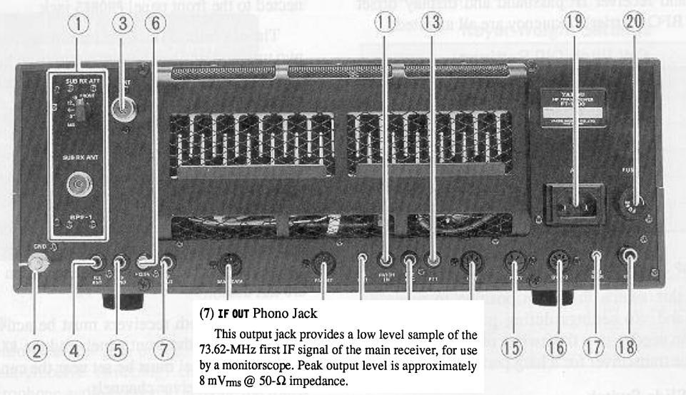 FT1000 Yaesu : Panne inverter - retroeclairage - affichage Ft1000-sortie-fi