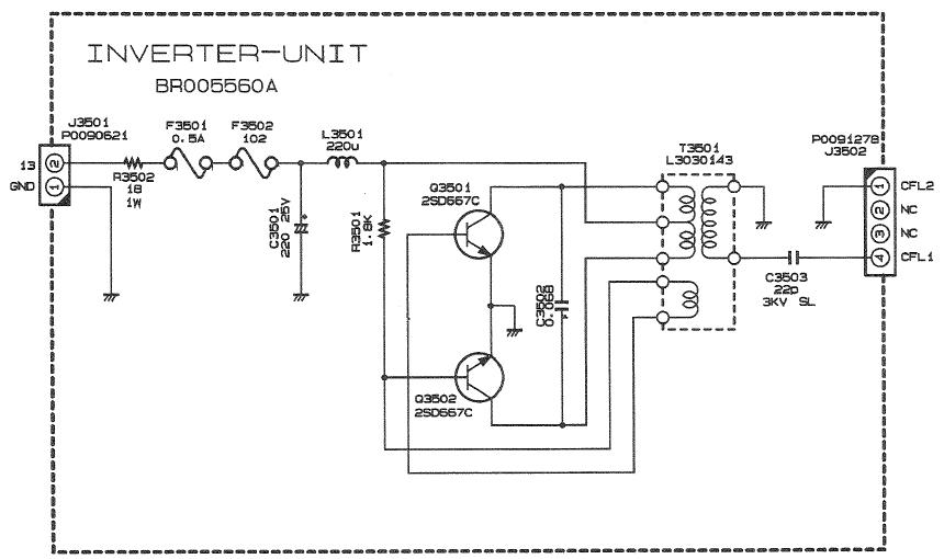 FT1000 Yaesu : Panne inverter - retroeclairage - affichage Schema-platine-inverter