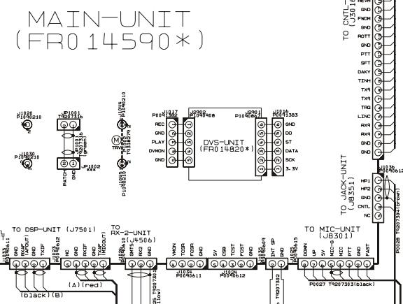 FT2000 Yaesu : Voyant TX clignotant au démarrage - Absence de passage en émission 02-mic-sur-main-unit