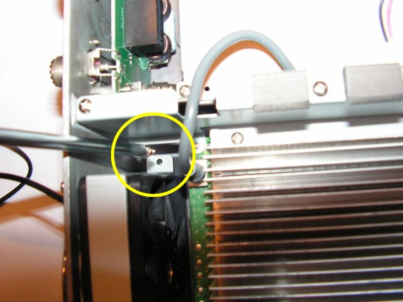 FT2000 : Dongle RTL SDR - Mise en place Vis-ventilo