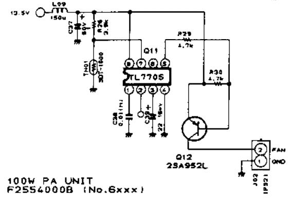 FT757 : Modifier le déclenchement du ventilateur Ventilateur-schema-tempo