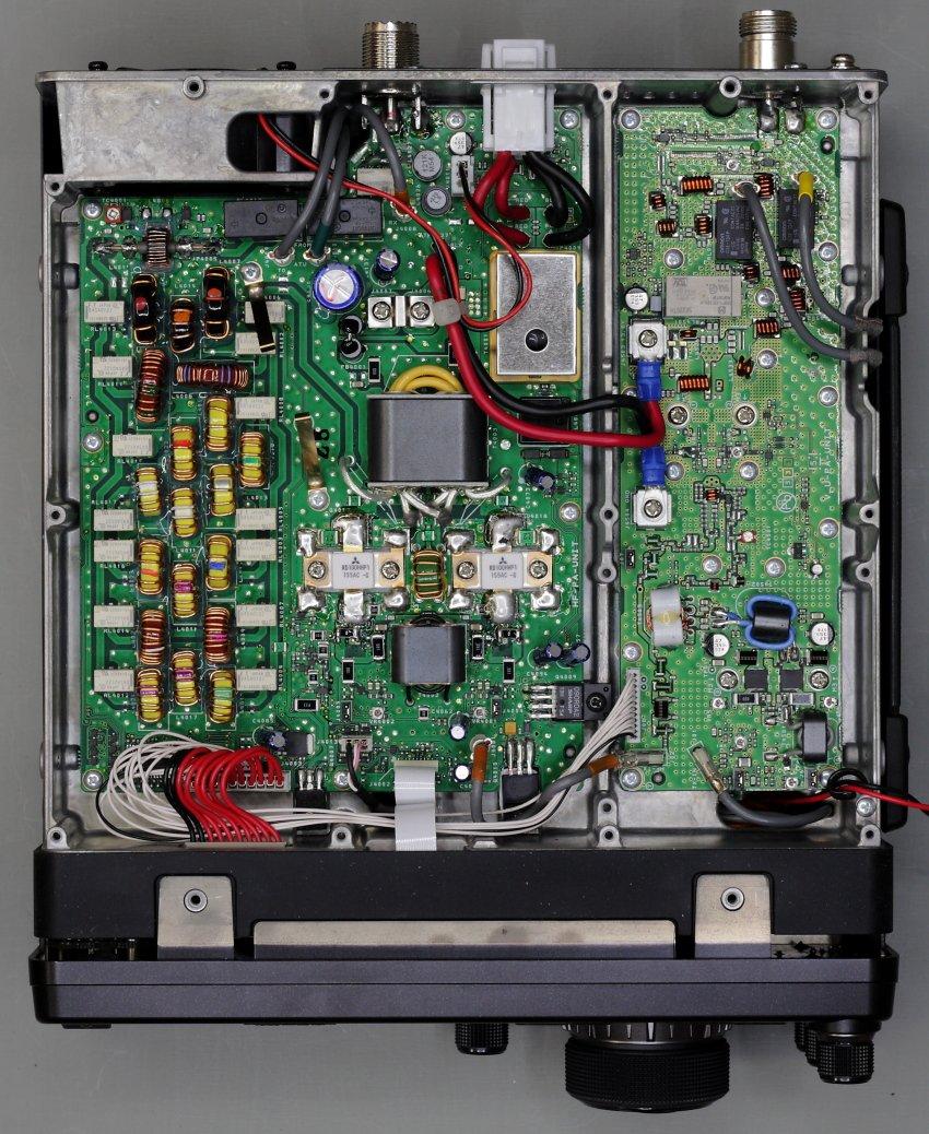 FT991 : Vérifier le courant de repos du PA (Transistors RD100HHF1) FT991-PA