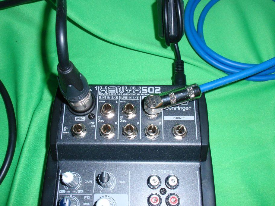 ICOM IC7300 et HEIL PR781 MicIn_Out2Radio