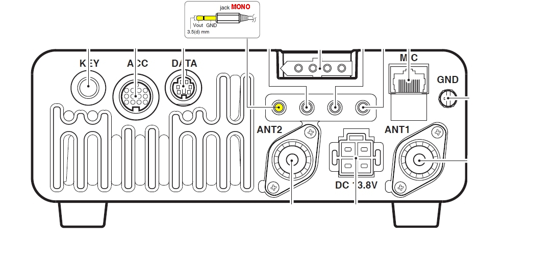 IC7000 - Vidéo externe : Ecran de caméra de recul pour véhicule IC7000-ecran-deporte-2