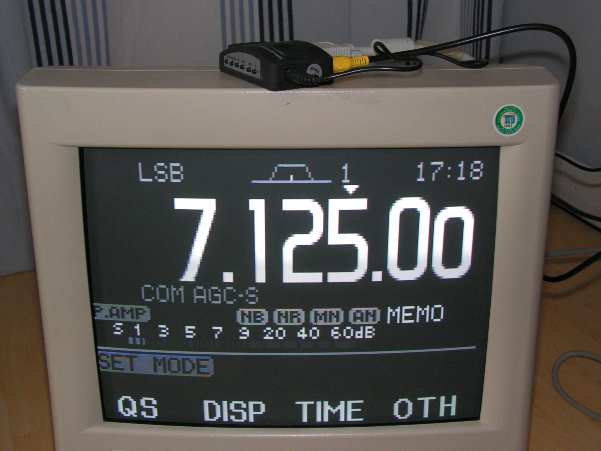 Vidéo externe : Convertisseur Vidéo pour écran externe IC7000 IC7000-interface-video-01