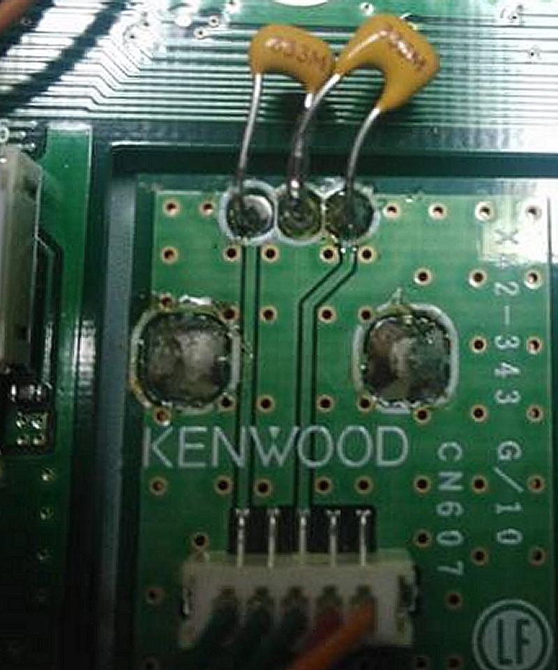 TS990 Kenwood : Dysfonctionnement du bouton MULTI/CH control (dépannage) Multi-CH