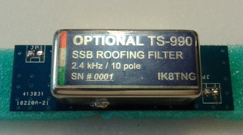 TS990 Kenwood : Disposer d'une sélectivité digne de ce nom - Filtre optionnel de IK8TNG Filtre-24-ik8tng