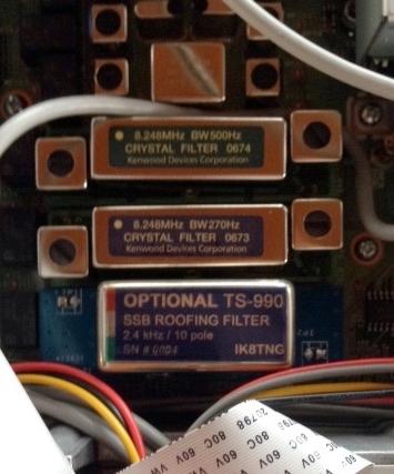 TS990 Kenwood : Disposer d'une sélectivité digne de ce nom - Filtre optionnel de IK8TNG Montage-02