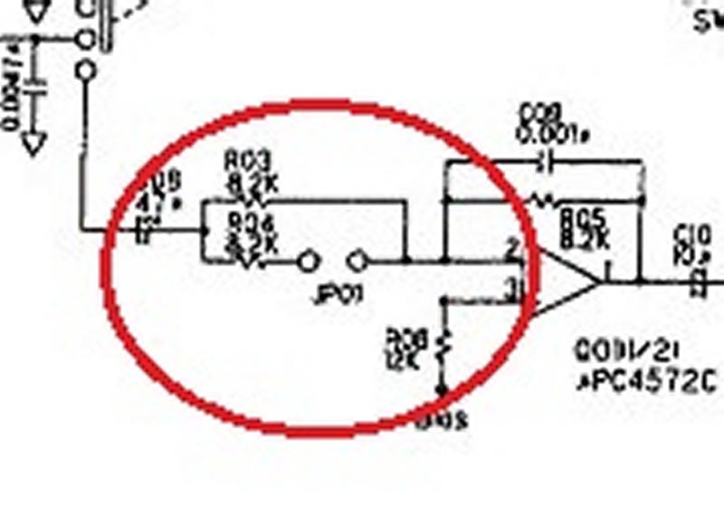 md100 - MD100 : Augmenter de 3dB le niveau d'entrée Md-100-circuit-zoom