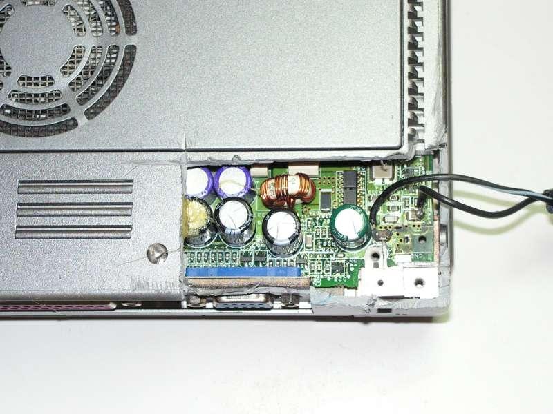 Réparation connecteur de PC portable 3