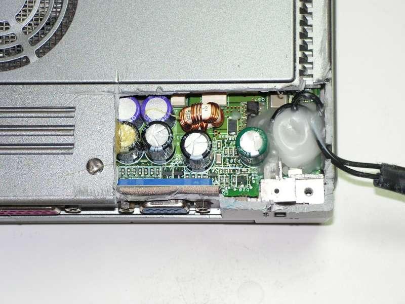 Réparation connecteur de PC portable 4