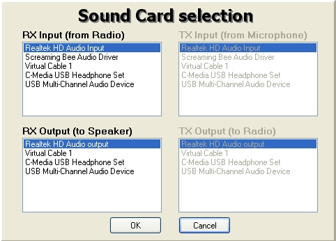 Configuration clé RTL SDR : Driver et logiciels Hdsdr01