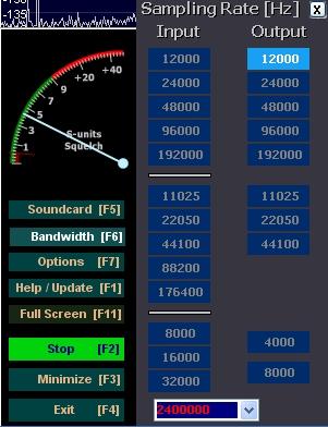 Configuration clé RTL SDR : Driver et logiciels Hdsdr02