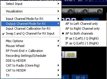 Configuration clé RTL SDR : Driver et logiciels Hdsdr06