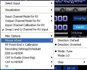 Configuration clé RTL SDR : Driver et logiciels Hdsdr08