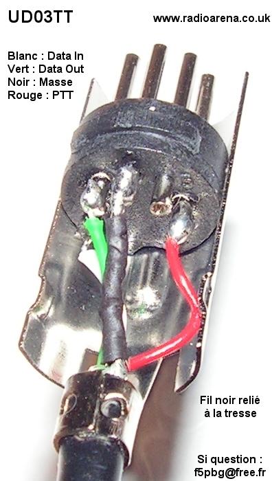 UD03TT : Brochage des fils de la prise DIN Brochage-prise-din-ud03tt-radioarena