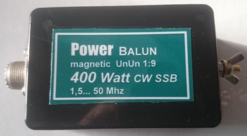 Transformateur d'impédance ( UNUN ) 1:9 sur eBay / Balun 01