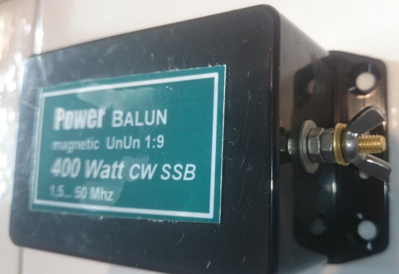 Transformateur d'impédance ( UNUN ) 1:9 sur eBay / Balun 05