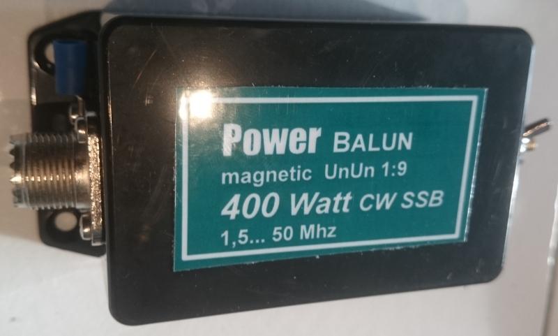 Transformateur d'impédance ( UNUN ) 1:9 sur eBay / Balun 08