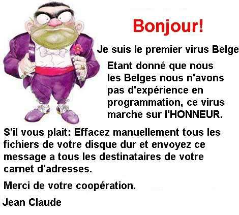 signalement des radars - Page 2 Virus_belge