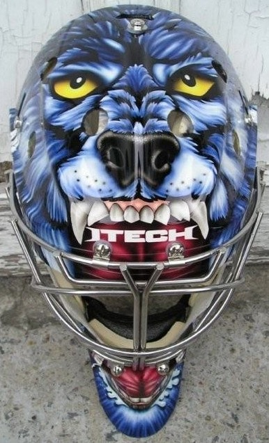 GM Hockey open forum - What is your favourite goalie mask design, past or present? Cujo-leafs21