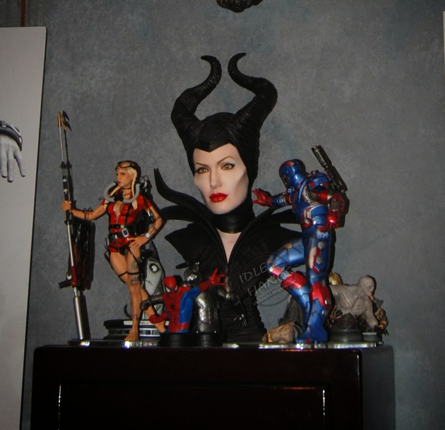 IRON PATRIOT 1/4 STATUE GENTLE GIANT 8845e-toyfair2014gentlegiantmaleficent