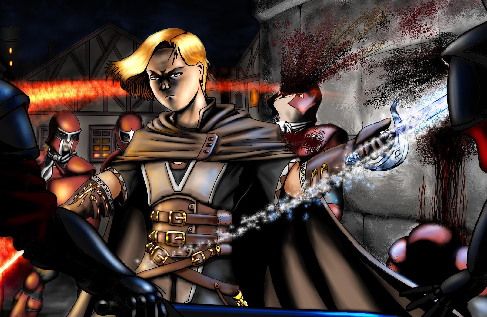 Fugitifs : Dessins des personnages joueurs Image5c811e39a66e9