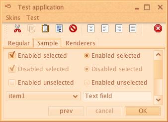 تعلم كيفية إنشاء تطبيقات ذات وجهة رسومية جذابة فى الجافا باستخدام المكتبة Substance look&feel Autumn1