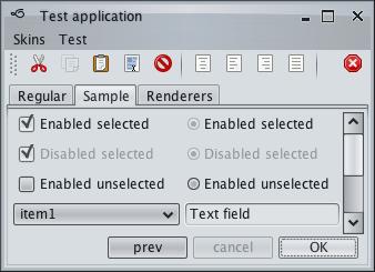 تعلم كيفية إنشاء تطبيقات ذات وجهة رسومية جذابة فى الجافا باستخدام المكتبة Substance look&feel Business1