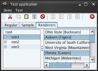 تعلم كيفية إنشاء تطبيقات ذات وجهة رسومية جذابة فى الجافا باستخدام المكتبة Substance look&feel Businessblacksteel2