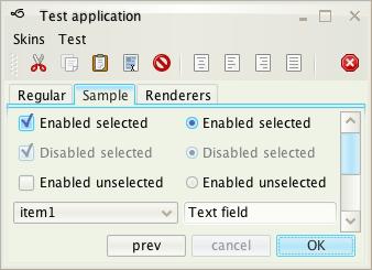 تعلم كيفية إنشاء تطبيقات ذات وجهة رسومية جذابة فى الجافا باستخدام المكتبة Substance look&feel Creme1