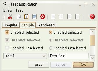 تعلم كيفية إنشاء تطبيقات ذات وجهة رسومية جذابة فى الجافا باستخدام المكتبة Substance look&feel Cremecoffee1