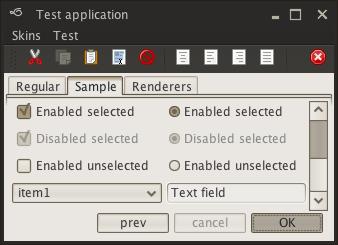 تعلم كيفية إنشاء تطبيقات ذات وجهة رسومية جذابة فى الجافا باستخدام المكتبة Substance look&feel Dust1