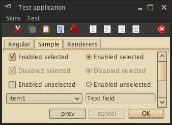 تعلم كيفية إنشاء تطبيقات ذات وجهة رسومية جذابة فى الجافا باستخدام المكتبة Substance look&feel Dustcoffee1